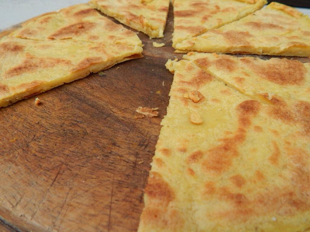 Chickpea flatbread,  socca