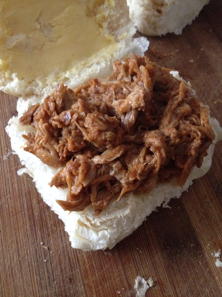 Simple crockpot pulled pork