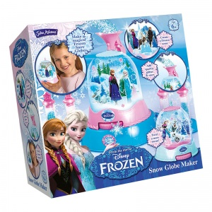 Frozen snow globe maker