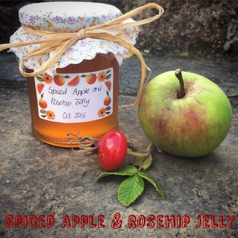 Apple & Rosehip jelly