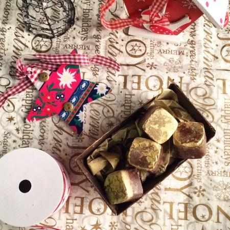 Christmas spiced truffles