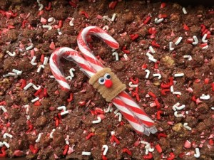 candy cane rocky road