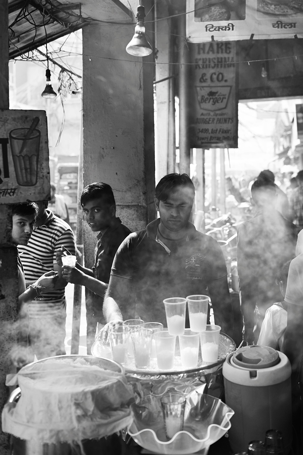 Chai on streets of India