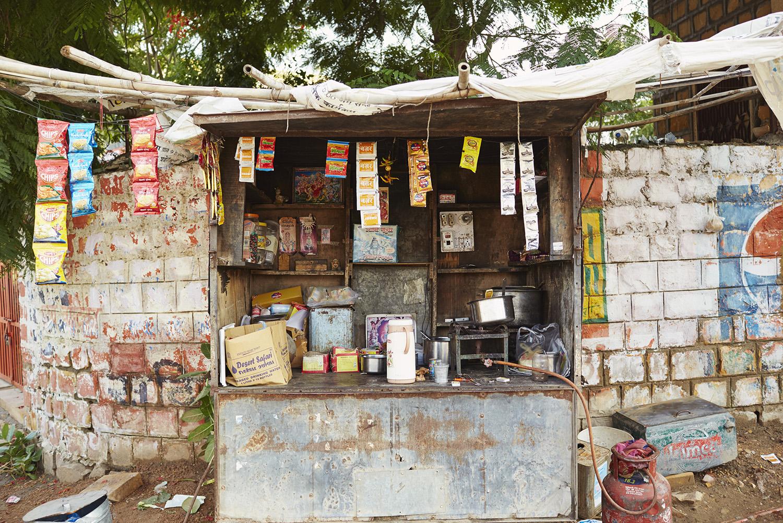 street vendor chai