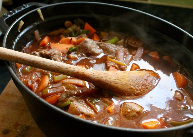 beef cobbler stew