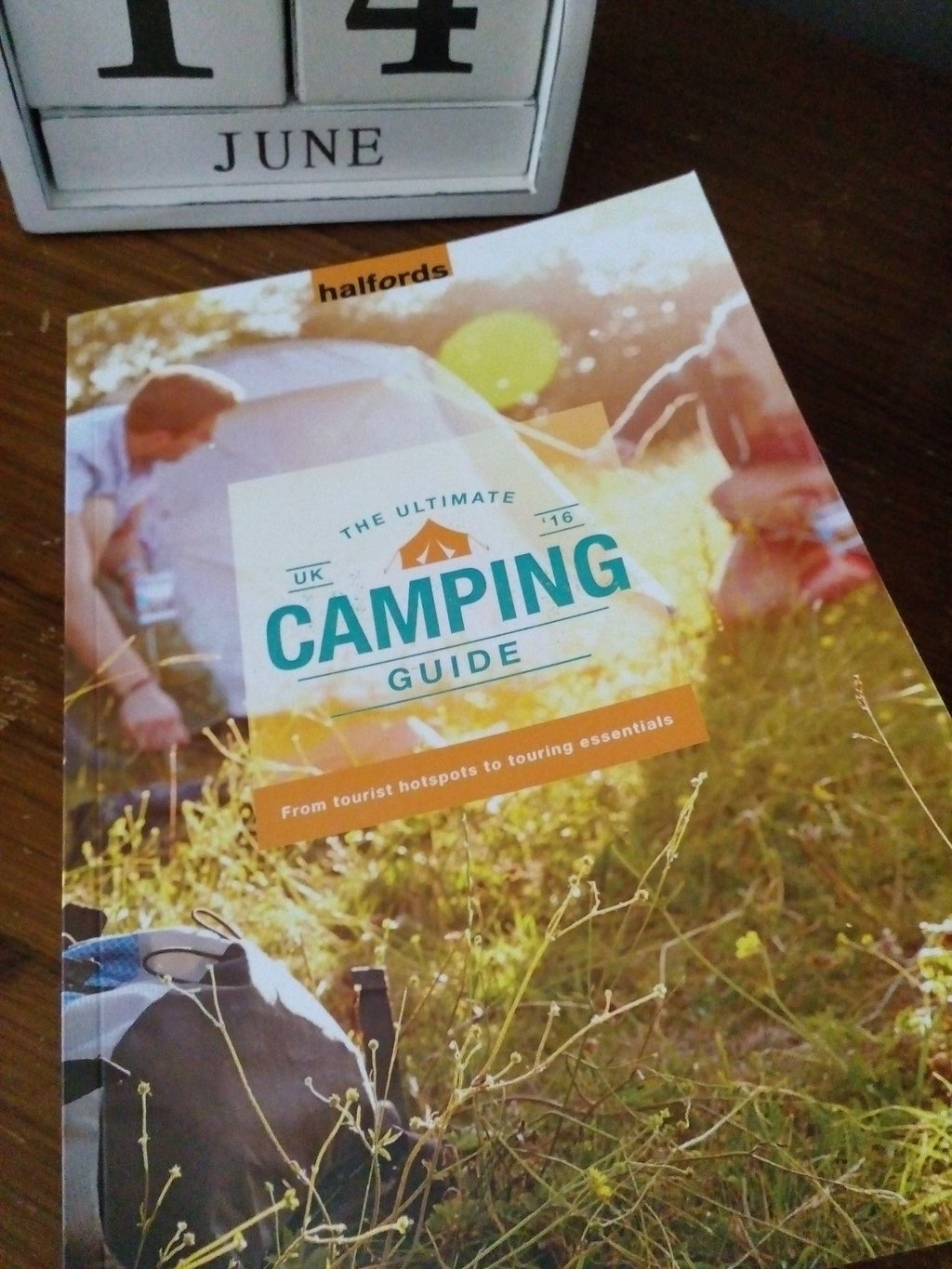 uk camping guide hallfords