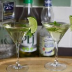 Elderflower & Lime Gin Cocktail