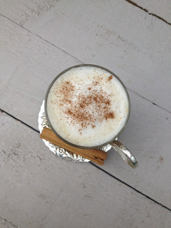 perfect chai latte
