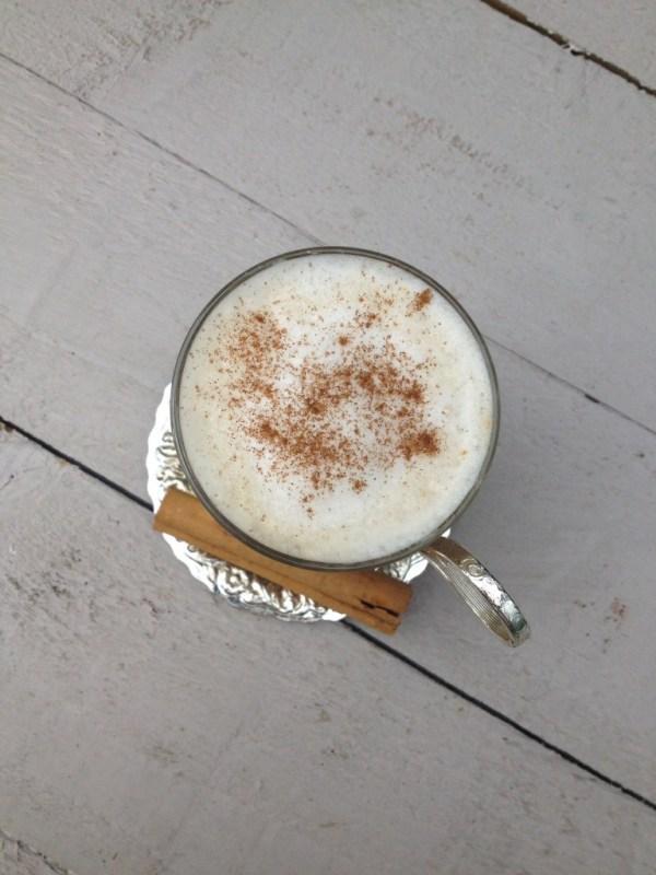 perfect chai latte