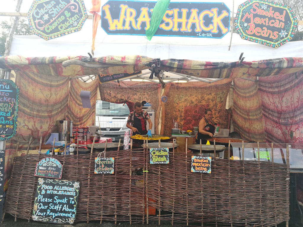 wrapshack narberth food festival