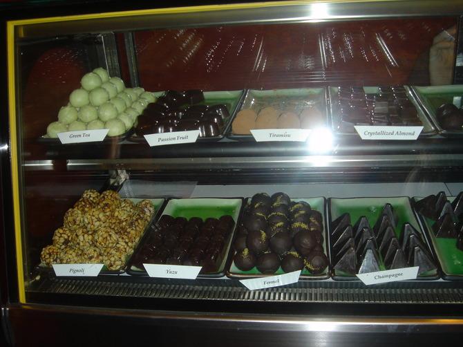 Kee's hand-made chocolates