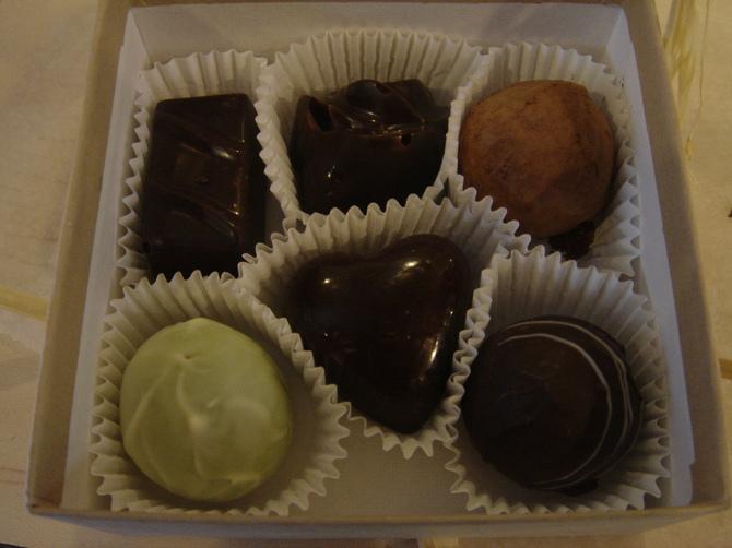 Box of Kee's Chocolates