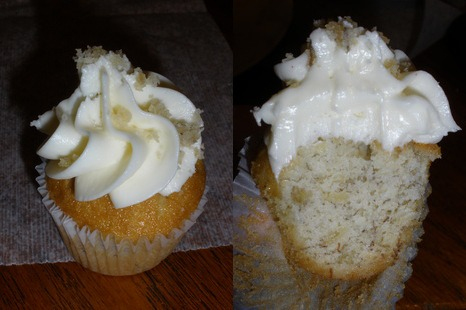 My Mini Banana Cupcake