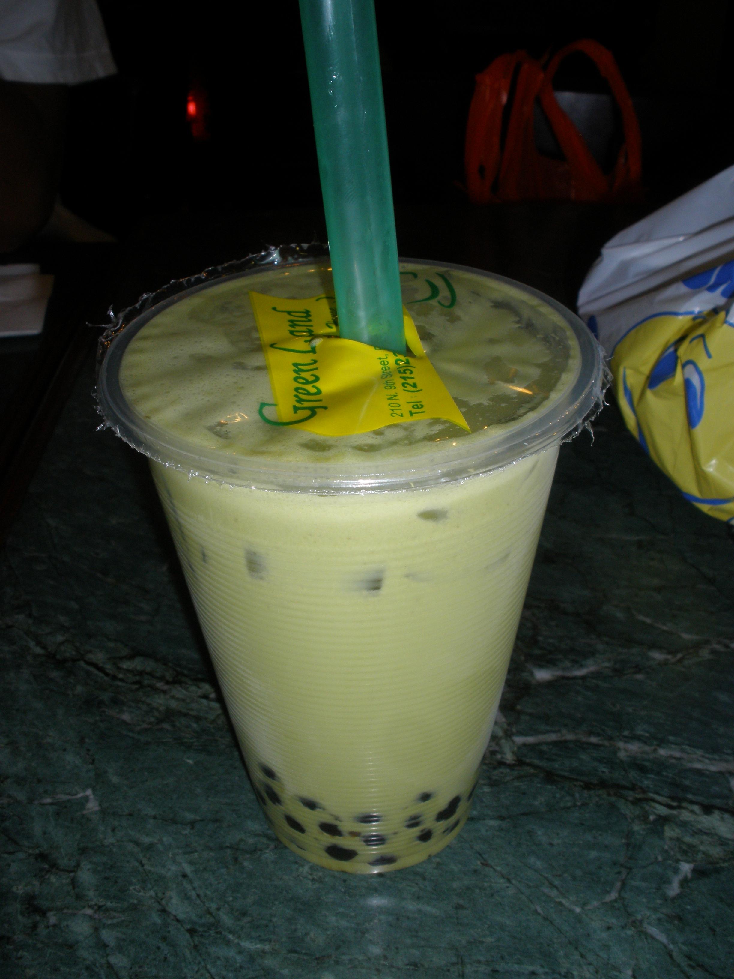 Green Tea Bubble Tea