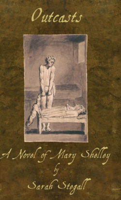 "Cover of ""Outcasts: A Novel of Mary Shelley"""