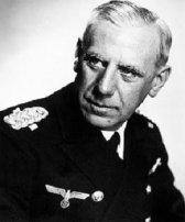 Almirante Canaris, jefe del Abwehr