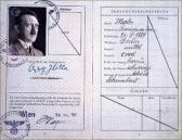 Documento de identidad de Adolf Hitler.