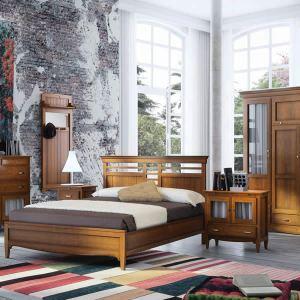 Dormitorio matrimonio. Colonial