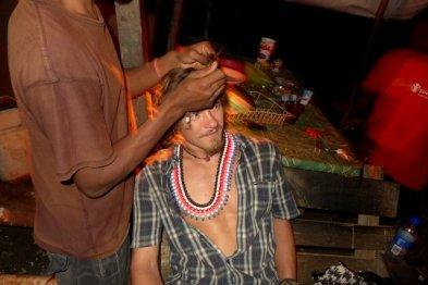 the guys making my hair