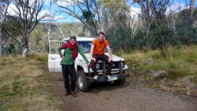 we drove on washed out mountain tracks for hours, to carry the luggage of the customers
