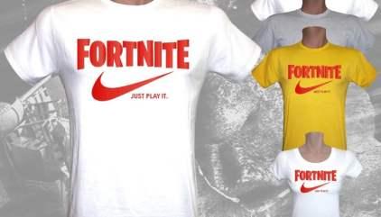 mejores zapatos gran descuento hermosa y encantadora Camiseta Nike Fortnite Just Play it - Mundo Friki