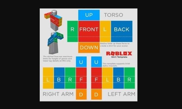 Como Hacer Tu Propia Camiseta En Roblox