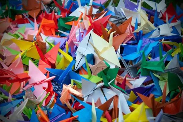 Origamis de Tsuru (Foto: AsianWiki)