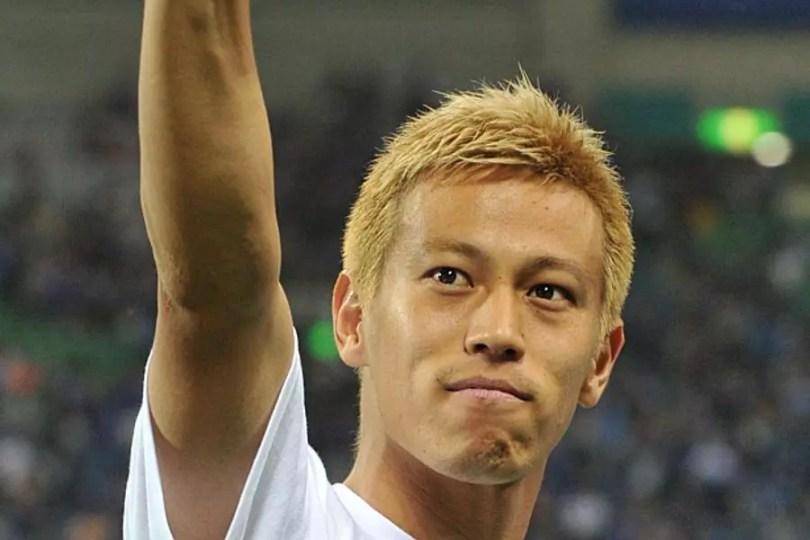 Keisuke Honda (Foto: Kyodo)