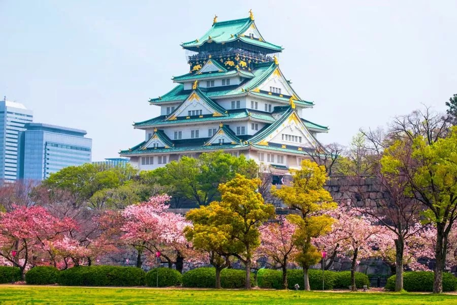 Castelo de Osaka Foto: Sotckvault - Mundo-Nipo