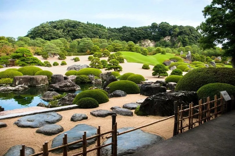 Jardim do Museu de Arte de Adachi | Foto: Decouvrez Matsue
