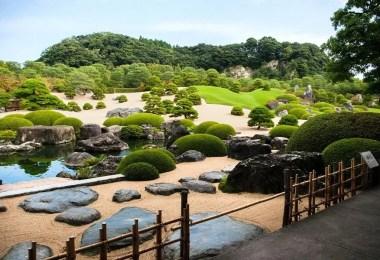 Jardim do Museu de Arte de Adachi   Foto: Decouvrez Matsue