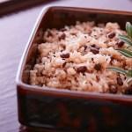 Receita de sekihan: arroz vermelho