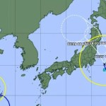 Tufão pode atingir o Japão durante as Olimpíadas