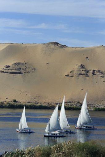 faluca Rio Nilo