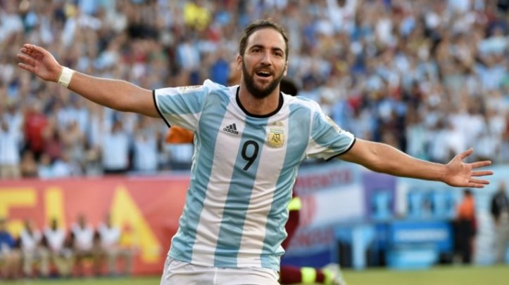 Image result for gonzalo higuain argentina