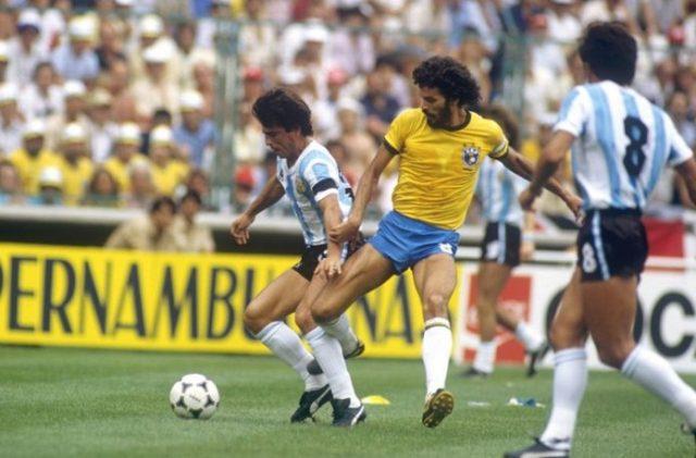 Argentina vs Brazil 1982