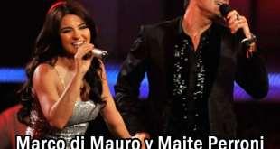 Marco di Mauro y Maite Perroni - A PARTIR DE HOY