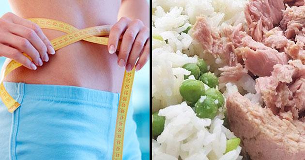 Adelgazar con la dieta del arroz