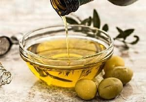 aceite de olivas