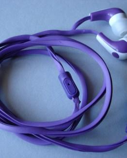 Auriculares de cable plano