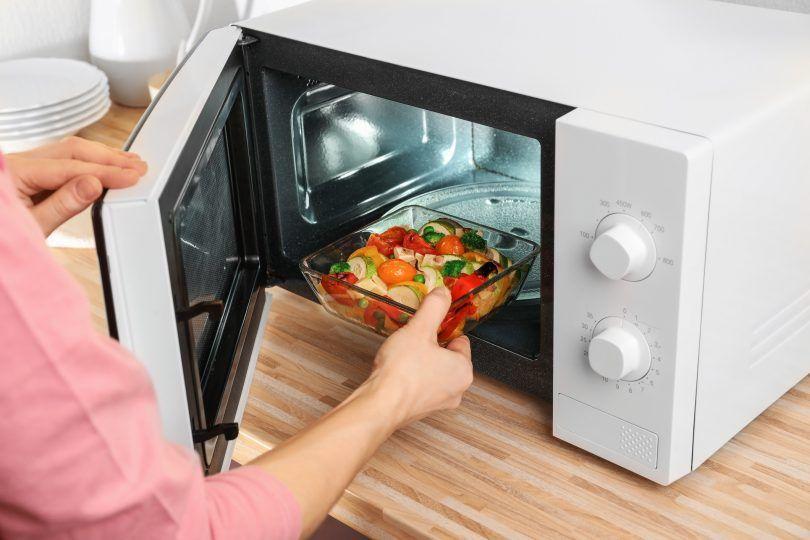 cocinar microondas