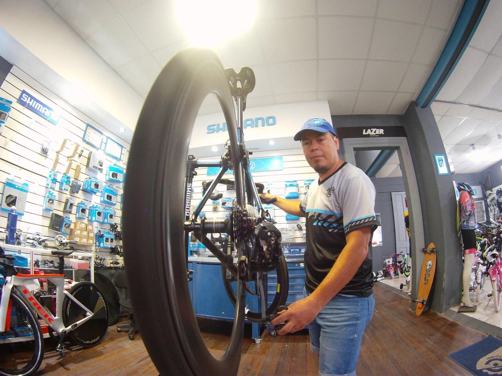 Shimano Service Center, mecanica, mundo bike