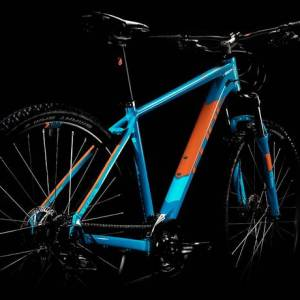 bicicleta mountain bike cube, btt cube, cube aim pro