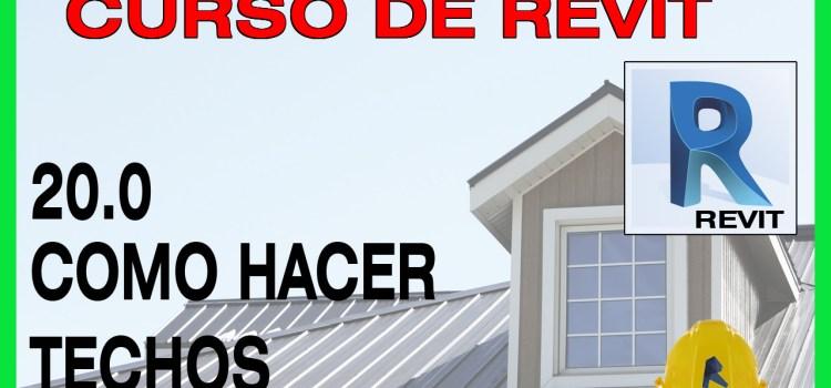 curso revit para principiantes techos