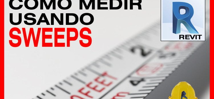 revit como medir con sweep