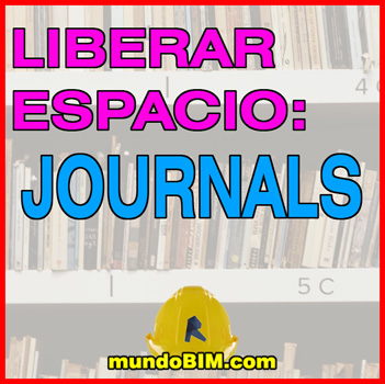 liberar memoria en revit journals