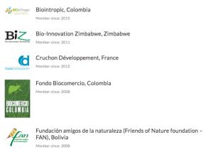 Biointropic miembro afiliado de UEBT