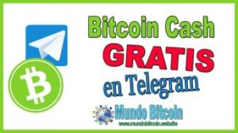 bitcoin cash gratis en telegram
