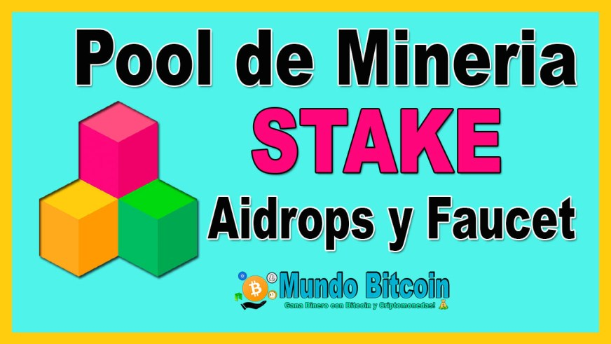 stakecube pool de minería de stake airdrops y faucet