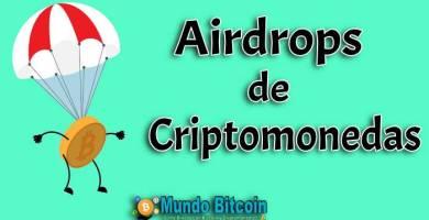 airdrop de criptomonedas, gana dinero desde el aire con crypto
